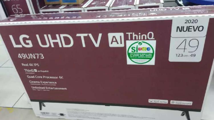 Tv LG 49 pulgadas smart tv nuevo