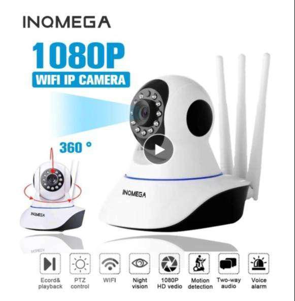 Cámara De Seguridad Wifi Ip 1080P Hd Sensor Inteligente