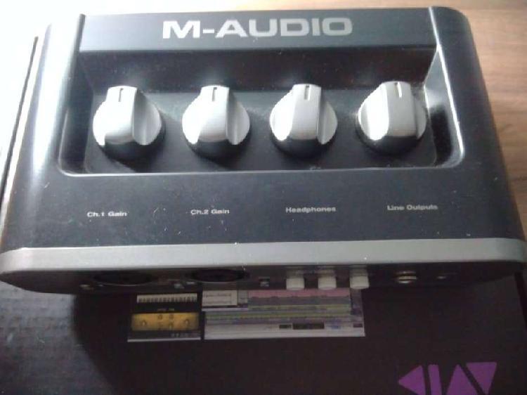Interfaz M Audio Mobile Pre