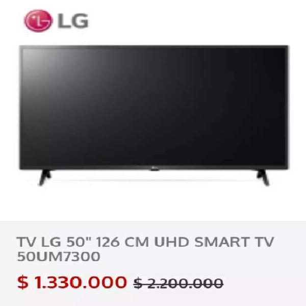 Televisor LG 50-UM7300 Smart TV UHD