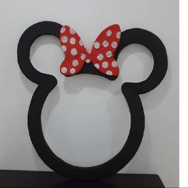 Mickey / Minnie Mouse cabeza en icopor
