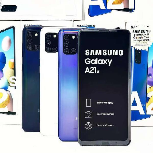 Samsung A21S 64GB / 4GB RAM Nuevos Sellados Garantia Somos