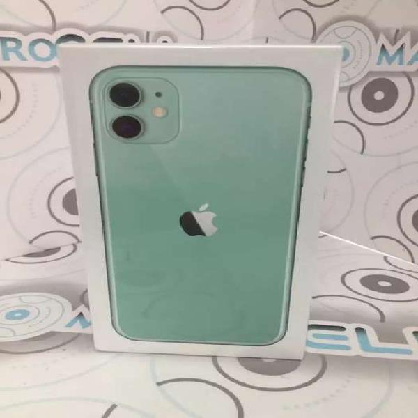Vencambio iPhone 11 128GB Verde, NUEVO CAJA SELLADA GARANTIA