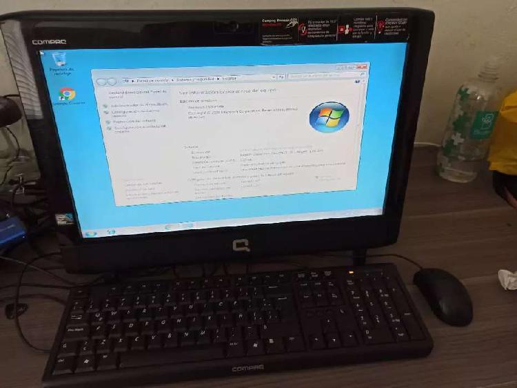 Computador Compaq todo en uno CQ1