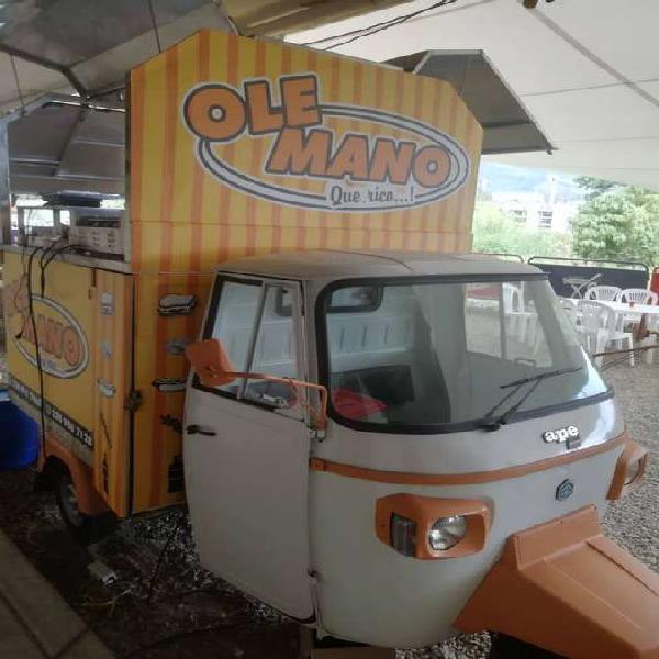 Motocarro foodtruck