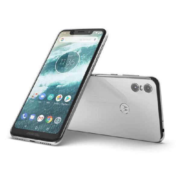Motorola One blanco