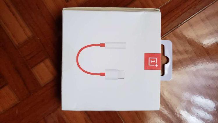 Oneplus 1+ Adaptador audifonos USB tipo C a jack de 3.5mm