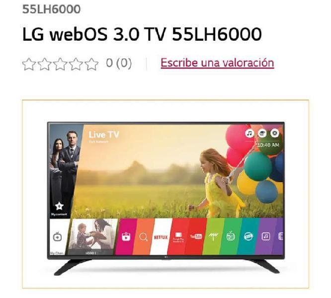 Televisor Smart TV LED 55 pulgadas