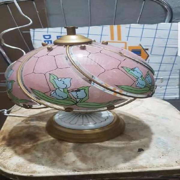 Vendo lámpara antigua de porcelana china
