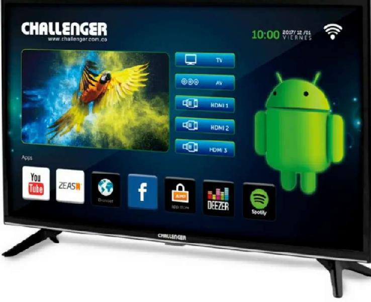 Vendo televisor challenger de 32 pulgadas Smart Tv