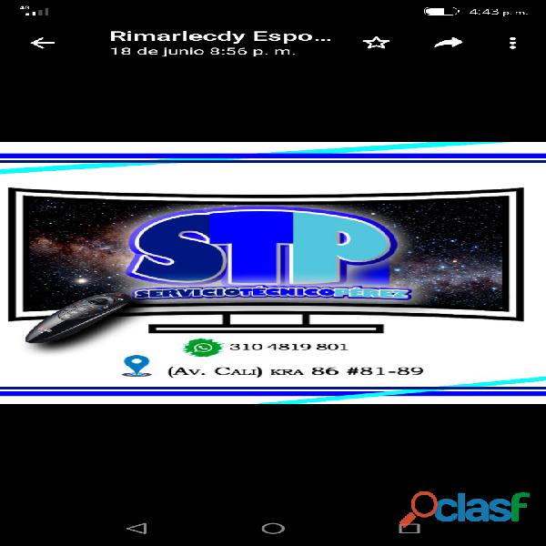 Servicio Técnico Especializado en Televisión