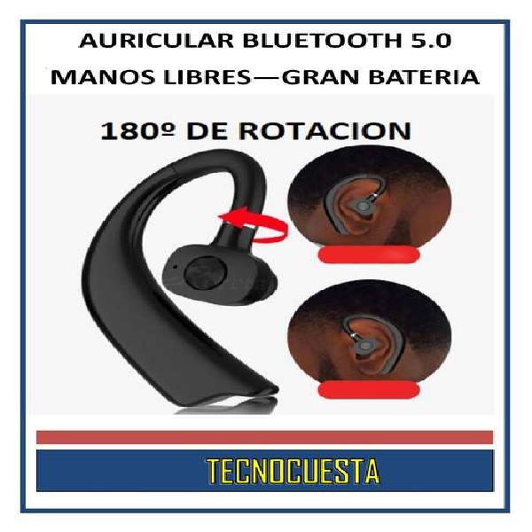AURICULAR X23 BLUETOOTH 5.0 MANOS LIBRES GRAN BATERIA