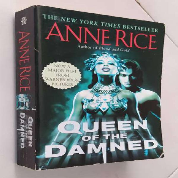 Libro The Queen of the Damned, Anne Rice