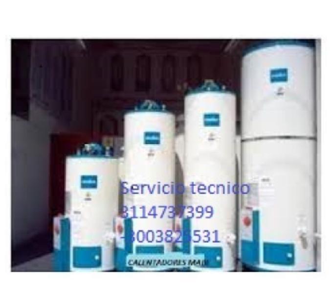 Servicio tecnico de calentadores mabe Directo 3174476205