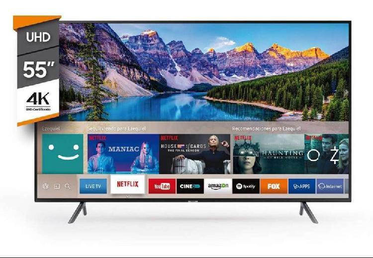 "Televisor Samsung 55"" 55NU7100 Smart TV 4K"