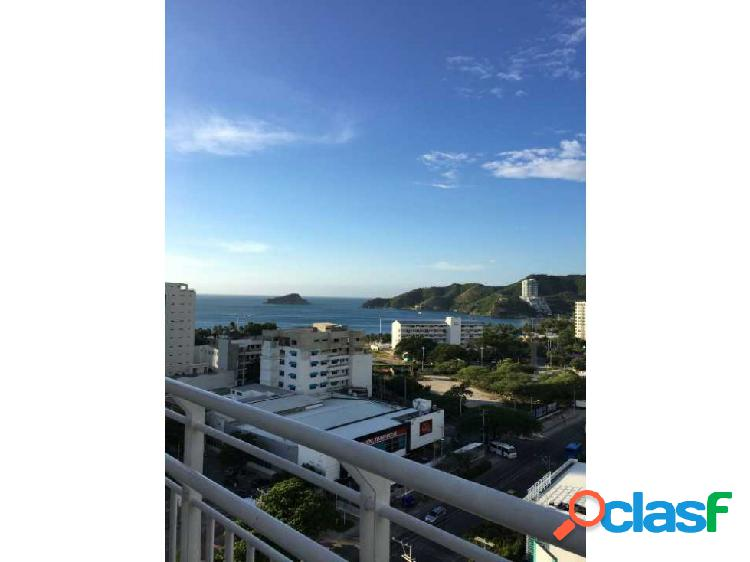 Apartamento con vista al mar Rodadero Santa Marta 001