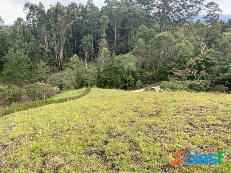 Lote en Venta sector El Capiro en Rionegro 2.133,92 m2