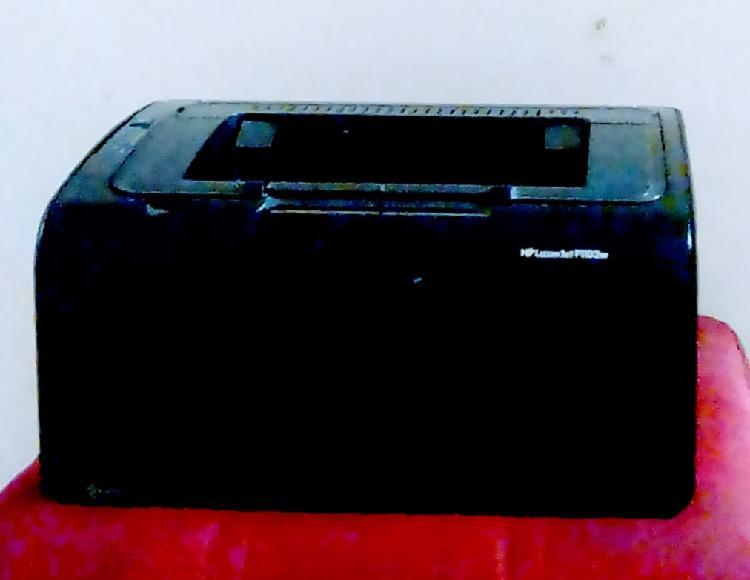 Se vende impresora HP LÁSER JET P 1102W
