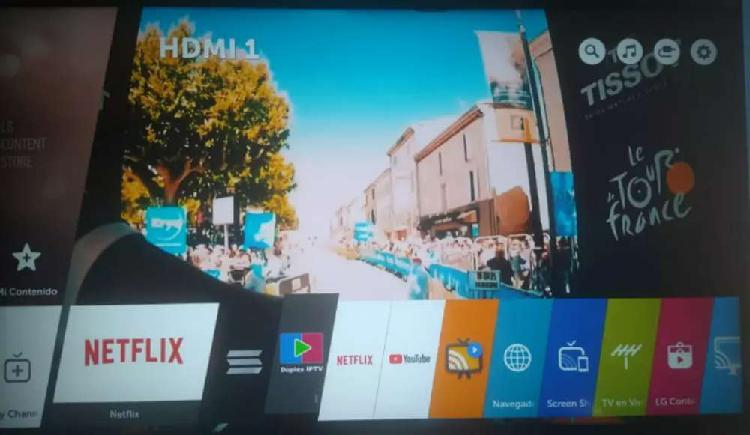 VENDO HERMOSO TELEVISOR LG 43 SMART TV