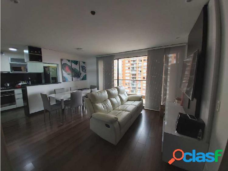 Hermosos apartamento en 9 piso. 3 hab, 2 parq, depósito,