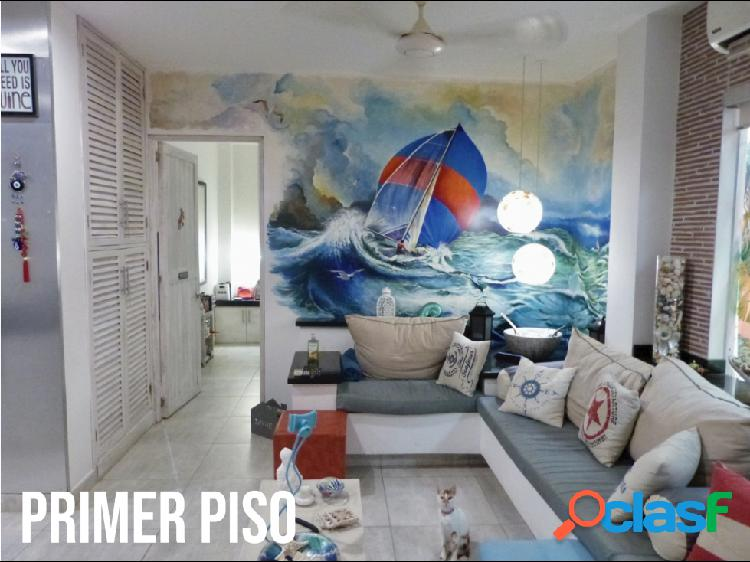 Venta de exclusiva Casa de Playa en Manzanillo Del Mar.