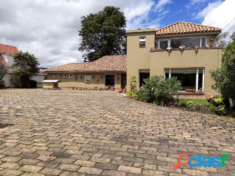arriendo Casa en Vereda Guaymaral(Chia) SG CO: 21-600