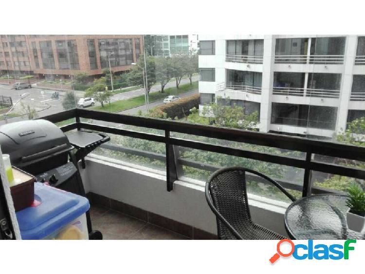 Vendo Apto en Buganvilla.Bogotá. Balcón. Exterior