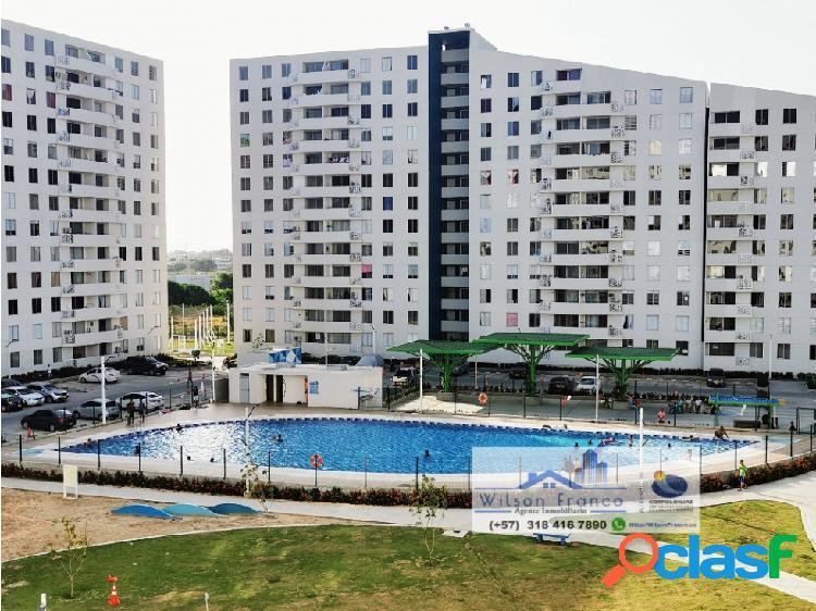 Apartamento En Venta, Condominio, El Club, Cartagena