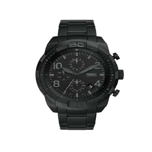 Reloj Fossil Bronson Fs5712 Negro Acerado Diseño Elegante