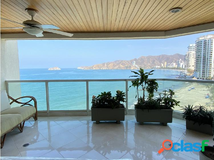 Venta apartamento en Rodadero Sur en Santa Marta