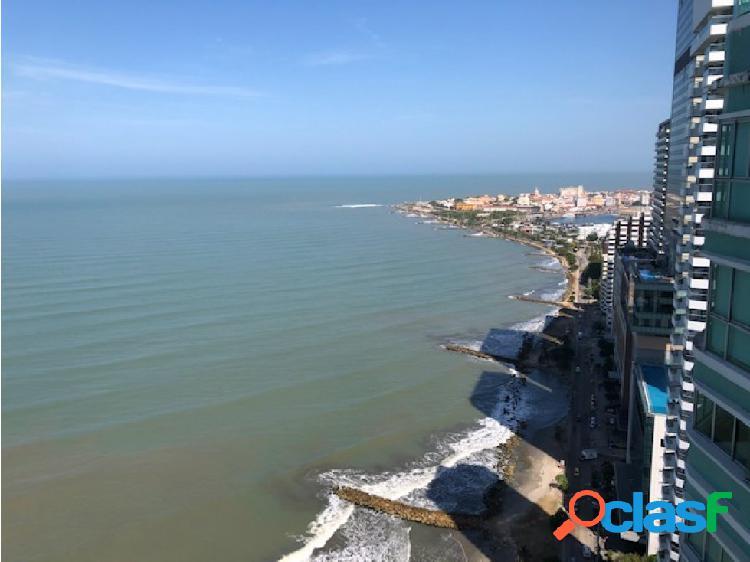 Vendo apartamento frente al mar Bocagrande