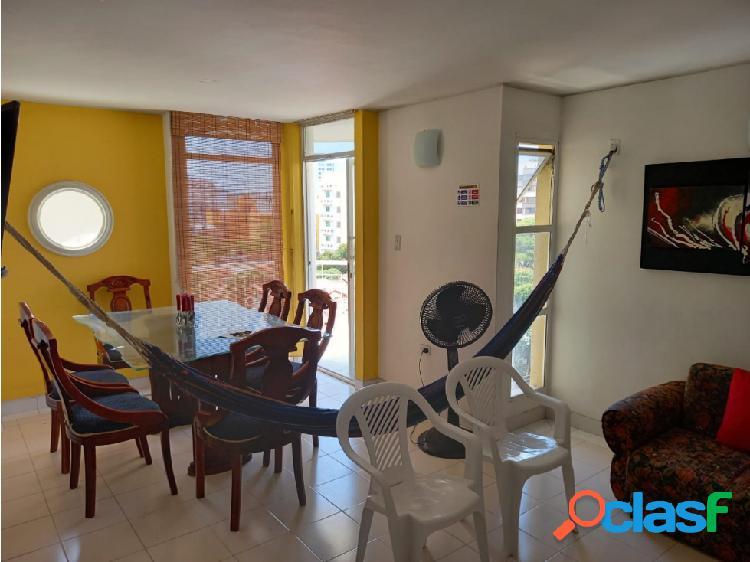 Venta de apartamento en el Rodadero Santa Marta- con renta