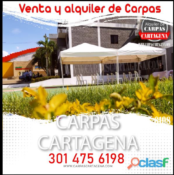 Venta y alquiler de Carpas Cartagena
