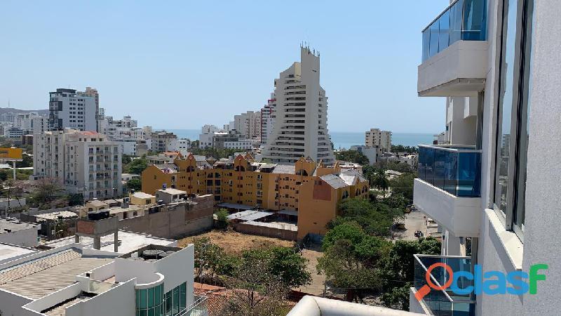 Apartamento con Vista al Mar en el Rodadero, Santa Marta